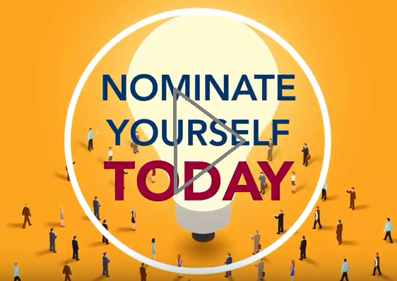 Nominate Yourself Today Video